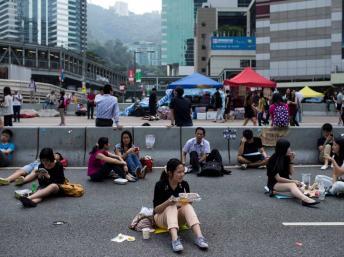 2014-10-07THONGKONG-CHINA
