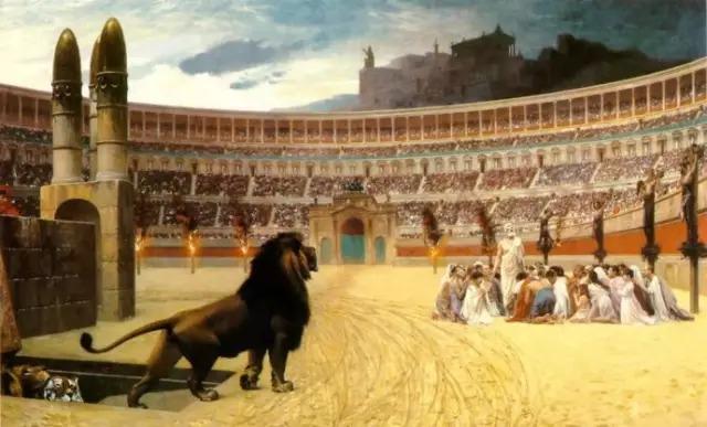 基督徒 罗马斗兽场