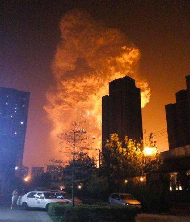 天津 化工 爆炸