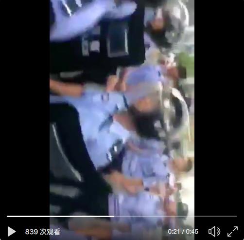万余名武汉市民走上街头抗议建焚烧厂