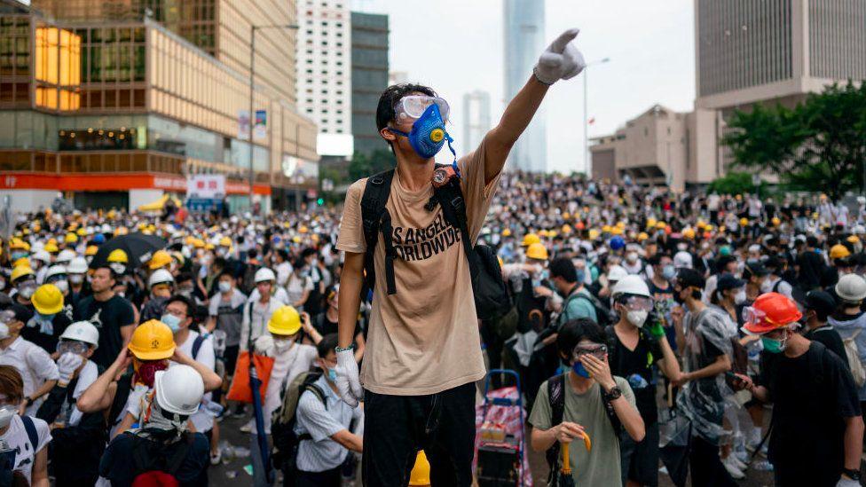香港逃犯条例:中港矛盾延烧至美国校园