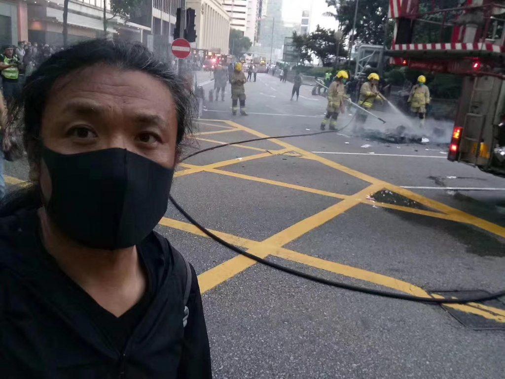 辽宁民运人士刘红志疑因前往香港参与抗议活动被拘留