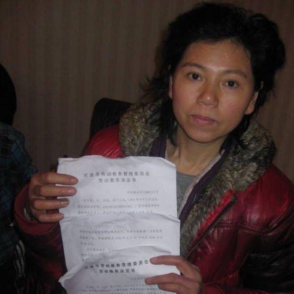 广西上访人员韦亚妮维权及受迫害经历